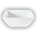 "Thunder Group 40 oz. Classic White 7-1/8"" Square Bowl"