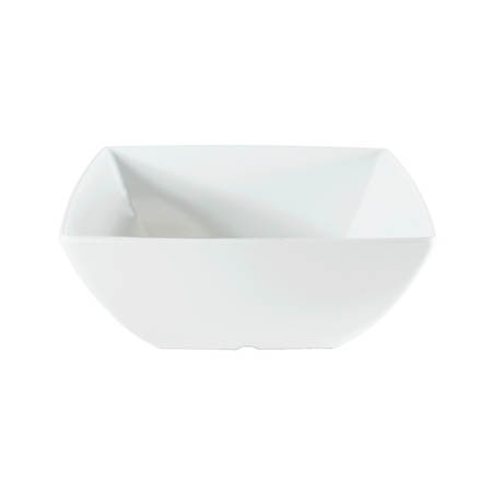 "LaSalle Manor Prestige 60 oz. Classic White 8"" Square Bowl"