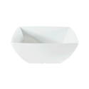 "Thunder Group 60 oz. Classic White 8"" Square Bowl"
