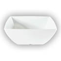 Thunder Group 90 oz. Classic White 9\x22 Square Bowl