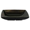 Thunder Group 60 oz. Classic Black 8\x22 Square Bowl