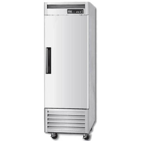 "Berg 23 cu. ft. 1-Door Bottom Mount Reach-In Freezer 26-3/4""W"