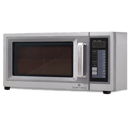 "Sentinel 1 cu. ft. 1000 Watt Light Duty Microwave Oven with Touch Pad 20""W"
