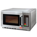 "Famous Maker 1.2 cu. ft. 1800 Watt Commercial Microwave with Touch Pad 23""W"