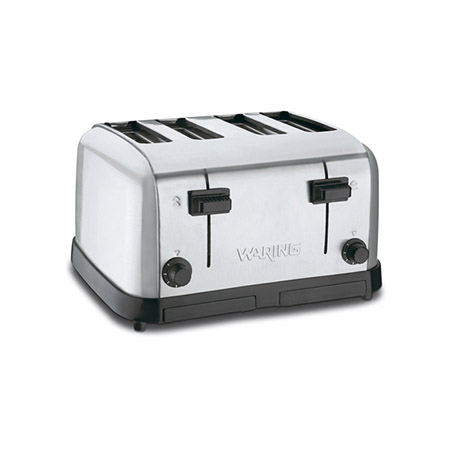 Waring 225 Slices/Hour 120V 4-Slice Pop-Up Toaster