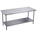 "Sauber Stainless Steel Work Table 30""W x 34""H"