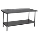 Sauber Stainless Steel Work Tables with 2
