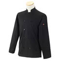 Kitchen Wears™ 2X-Large 10-button Black Chef Coat