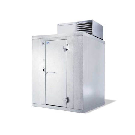 "Harford Kolpak Self-Contained with Floor Outdoor Walk-In Freezer 7'9"" x 7'9"" x 7'6-1/4"""