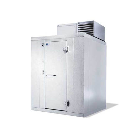 "Harford Kolpak Self Contained with Floor Outdoor Walk-In Freezer  5'10"" x 7'9"" x 7'6-1/4"""
