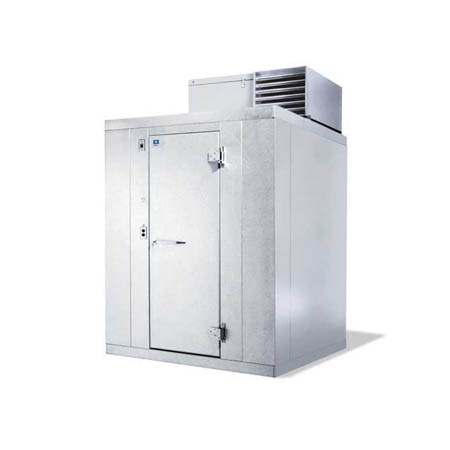 "Harford Kolpak Self Contained with Floor Indoor Walk-In Cooler 5'10"" x 5'10"" x 7'6-1/4"""