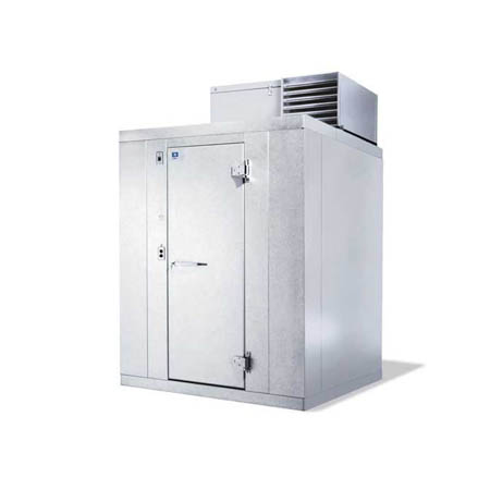 "Harford Kolpak Self Contained with Floor Indoor Walk-In Cooler 5'10"" x 7'9"" x 7'6-1/4"""
