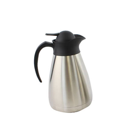 Bradford Hall 1-Liter Stainless Steel Insulated Vacuum Beverage Server