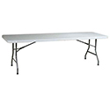 Modesto 6' Molded Plastic Folding Table