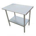 Sauber Stainless Steel Work Table 30\x22L x 24\x22W x 36\x22H