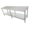 Sauber Stainless Steel Work Table 96\x22L x 30\x22W x 36\x22H