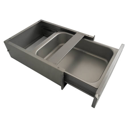 "Sauber Work Table Drawer with  20"" x 20"" x 5"" Liner"
