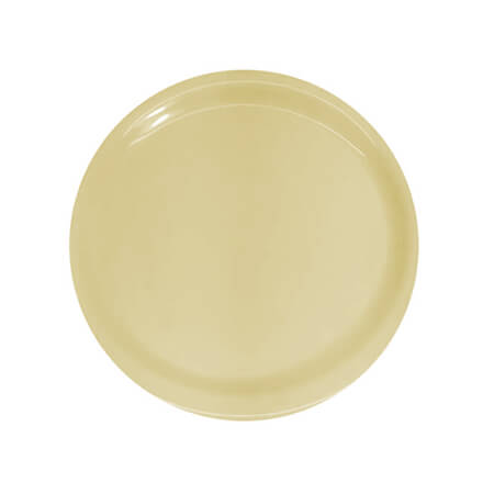 "LaSalle Manor 10"" Round Tan Dinner Plate"