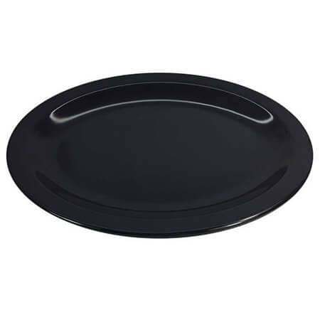 "LaSalle Manor 12"" Black Platter"
