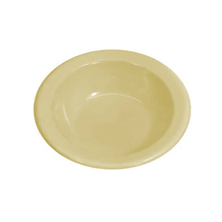 "LaSalle Manor 4-3/4"" Tan Rimmed Fruit Bowl"