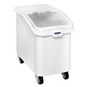 "ProStore 26-Gallon Heavy Duty Mobile Ingredient Bin with Clear Sliding Lid 15-1/2""W"