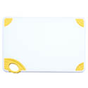 Winco Yellow Cutting Board with Hook for Poultry