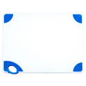 Winco Blue Cutting Board with Hook for Cooked Food 15