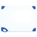 Winco Blue Cutting Board with Hook for Cooked Food 18
