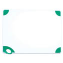 Winco Green Cutting Board with Hook for Fruits and Vegetables 18