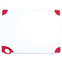 Winco Red Cutting Board with Hook for Meat 18
