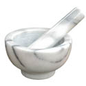 Winco Marble Mortar and Pestle