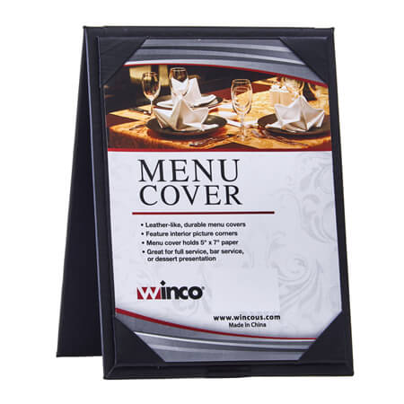 Winco Dual View Menu Tent