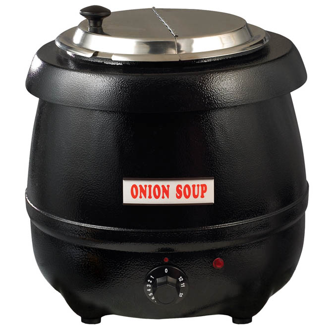 Electric Soup Warmer ~ Winco quart electric soup kettle warmer