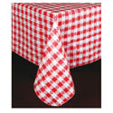 Checker Pattern Vinyl Tablecloths