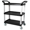 "Winco 3-Shelf Bus Cart 33-1/4""L x 17""W x 37-1/2""H"