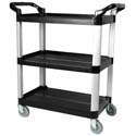 "Winco 3-Shelf Bus Cart 40""L x 19-3/4""W x 37-1/2""H"