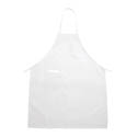 Winco Full Length White Bib Apron