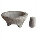 Libertyware 20 oz. Granite Molcajete Bowl with Pestle