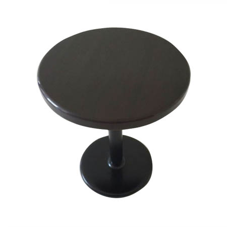 "24"" Round Walnut Resin Table Kit 41""H"