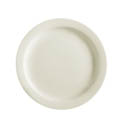 "MCIC Chelsea 7-1/2"" American White Narrow Rim Plate"