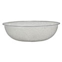 Parade Plastics 6\x22 Clear Pebbled Bowl