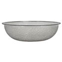 Parade Plastics 8\x22 Clear Pebbled Bowl