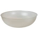 Parade Plastics 18\x22 Clear Pebbled Bowl