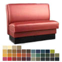 "Robertson Furniture Single Upholstered Booth 46""L x 22-1/2""D x 36""H"