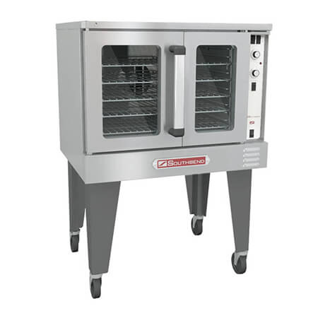 "Southbend Full Size Single Deck Liquid Propane Convection Oven with Casters 38""W"