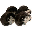 Set of 4 Casters for Southbend Convection Ovens & Ranges