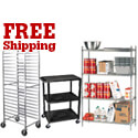 Shelves, Carts & Racks Free Shipping