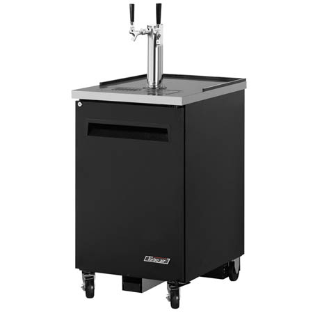 "Turbo-Air 1-Keg Black Beer Tap 23-5/8""W"
