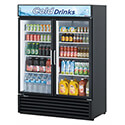 "Turbo Air 50 cu. ft. 2 Swinging Door Refrigerator Merchandiser 55-7/8""W"