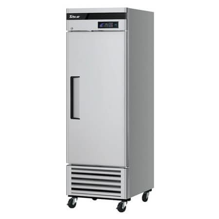 "Turbo-Air 19.3 cu. ft. 1-Door Bottom Mount Reach-In Refrigerator 27""W"